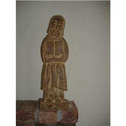 Wood Carving of a Saint #2385709
