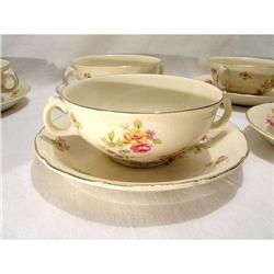 England Consommé Set 10 Cups and plates Royal #2385720