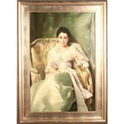 "After Sargent's ""Lady Agnew of Lochnaw "" #2389555"