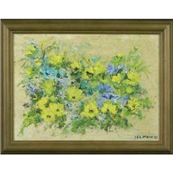 Original oil on wood floral painting entitled #2389572
