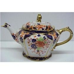 OLD HAND PAINTED NIPPON  TEAPOT #2389693