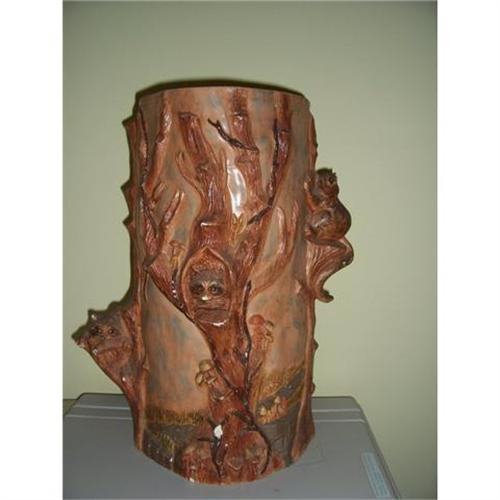 Pottery Umbrella Stand Floor Vase Weller 2389739