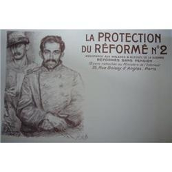 Vintage French Poster - 1916 - Military #2389750