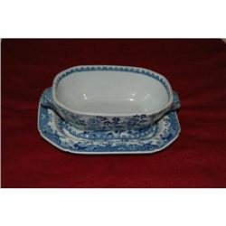 ANT SPODE CHINESE PATTERN TUREEN WITH STAND #2389790