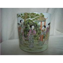 chinese porcelain brushpot #2389811
