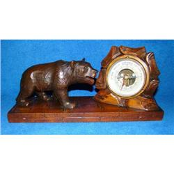 Gorgeous Black Forest Bear with Barometer !! #2389866