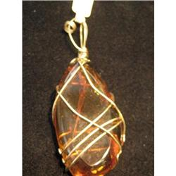 Very nice and large Amber pendant #2390065