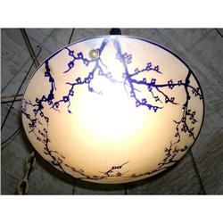 French Cameo Glass Lamp Sand #2390078