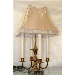 Brass and Marble table Lamp #2390444