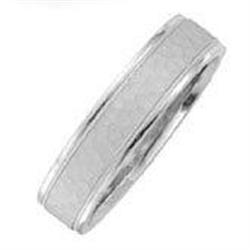 6 mm hammered satin wedding bands ring bridal #2390448
