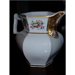 Fine Large 1830's American porcelain pitcher  #2390522