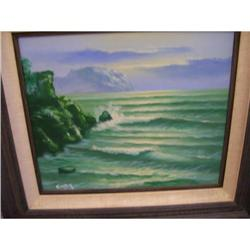 Carter Oil on Canvas Painting -  #2390531
