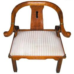 Chinese Armchair in Manner of James Mont  #2382185