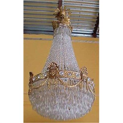 - Antique French Baccarat Crystal Chandelier #2382276