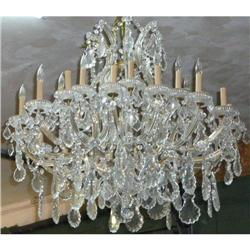 Italian Maria Theresa Crystal Chandelier  #2382293