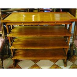 Mahogany Server  Buffet Stand Table #2382301