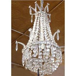 Beaded Crystal Empire Chandelier Fixture #2382318