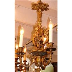 Bronze Chandelier Ceiling Fixture Light #2382319