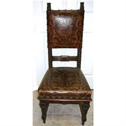 Set of Twelve European Antique Dining Chairs #2382325