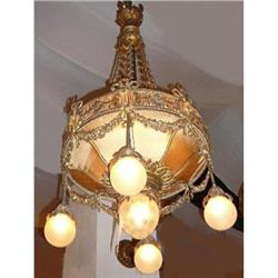 Antique Bronze Chandelier Fixture #2382327
