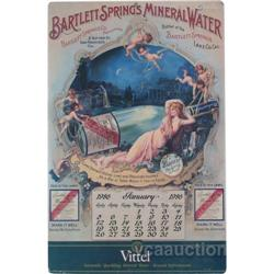 Bartlett Springs Mineral Water Reproduction Calendar