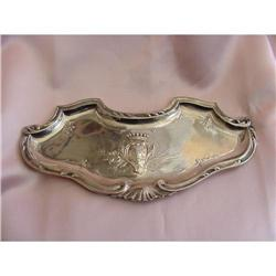 19th C. French Sterling Tray- Aucoc #2394252