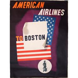 The Famous Ed Kauffer-American Airlines Poster #2394276