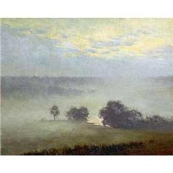 """Morning Fog"" - Russian traditions school #2394400"