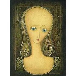 """Mine Lisa 2001"" Rare oil by Omar Chkhaidze #2394404"
