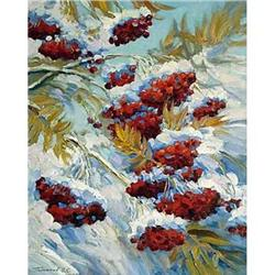 """Red Mountain Ash"" - Russian traditions school #2394429"