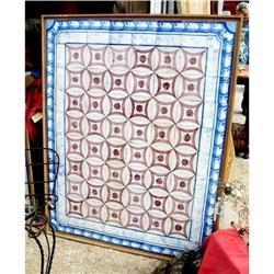 French 18th C Glazed Tiles in Pattern #2394475