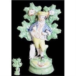 Staffordshire Pottery Figure Of A Gentleman #2394619