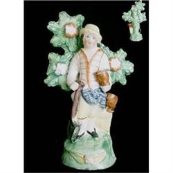 Staffordshire Pottery Figure Of A Gentleman #2394620