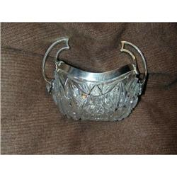 Imperial Russian Art Nouveau Silver & Crystal #2394762