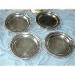 GEORGIAN SILVER COVERED WARMING DISHES #2394776