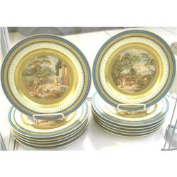 IMPORTANT SERVICE OF 12 ROYAL VIENNA PLATES #2394781