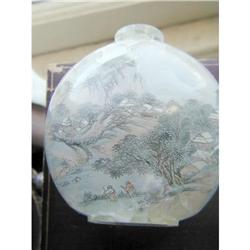Antique Chinese Rock Crystal Snuff Bottle #2394783
