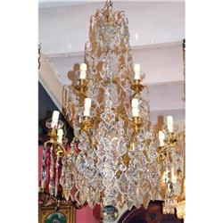 large 12 lights French Versailles chandelier  #2395013