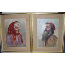 2 Vally Oil on Canvas Paintings #2395213