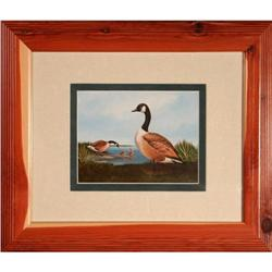 """""""Canada Geese Family"""" print by A.J. Rudisill #2375623"""
