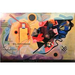 """Yellow, Red, Blue, 1925"" Poster by Kandinsky #2375634"