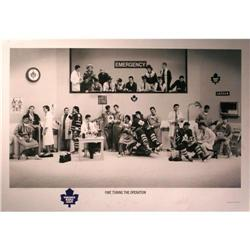 Fine Tuning the Operation, Maple Leafs Litho #2375635