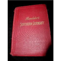 Travelers Guide Southern Germany C.1907 #2375636