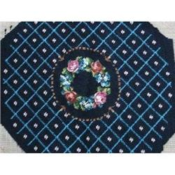 LOVELY FLORAL NEEDLEWORK & PETTIT POINT #2375666