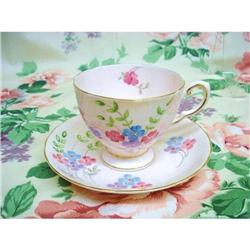 TUSCAN CHINA CUP&SAUCER  - HAND PAINTED #2375670