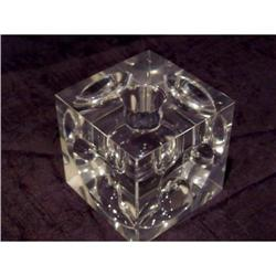 Early Crystal Modernist Inkwell #2375740