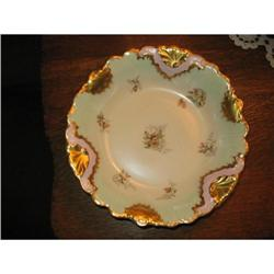 B & H  LIMOGES HAND PAINTED  BOWL #2375958