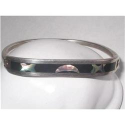 Taxco Sterling Silver 925,   Mexican Bangle #2376081