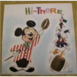 Two Cartoon Record-Cards, Six Vintage, Disney &#2376137
