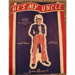 "Vintage Patriotic Music Collection - ""He's My #2376138"